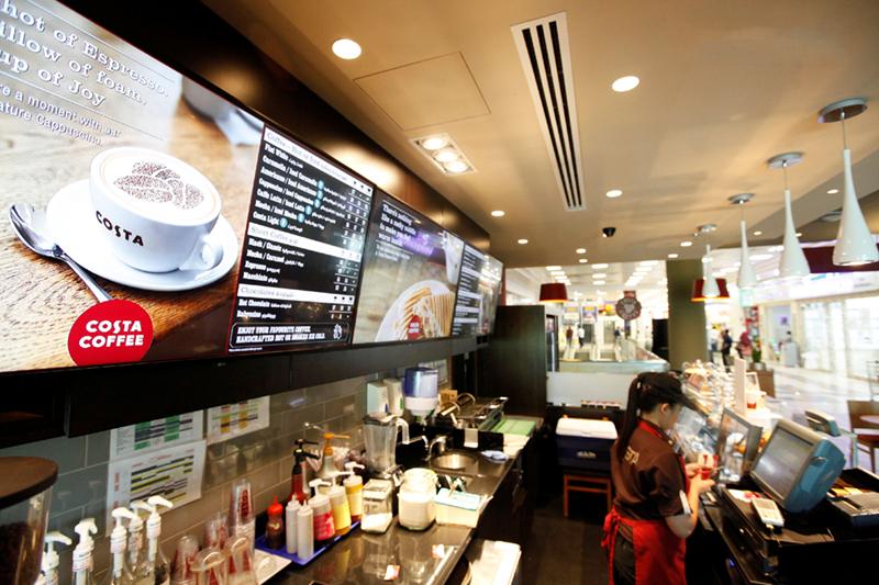 digitale menu borden