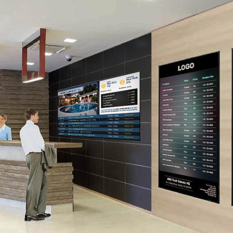 Hospitality digital signage 2