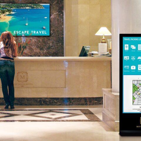Hospitality digital signage 7