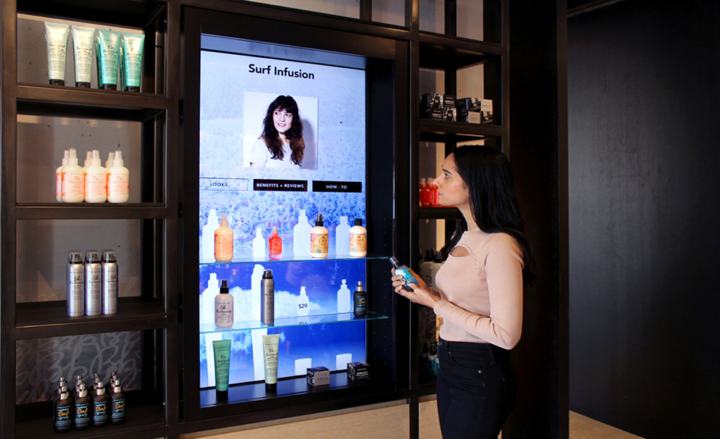 interactieve digital sigange